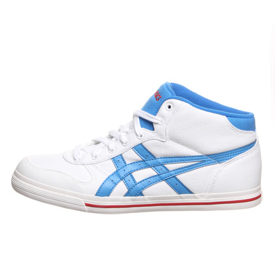 asics aaron mt cv white/blue