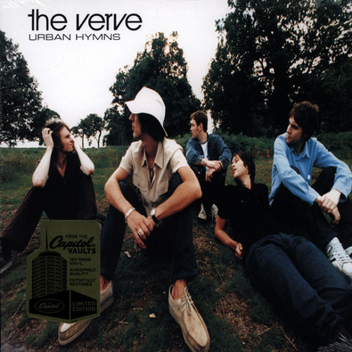 Verve The Urban Hymns Vinyl 2lp 1997 Us Reissue