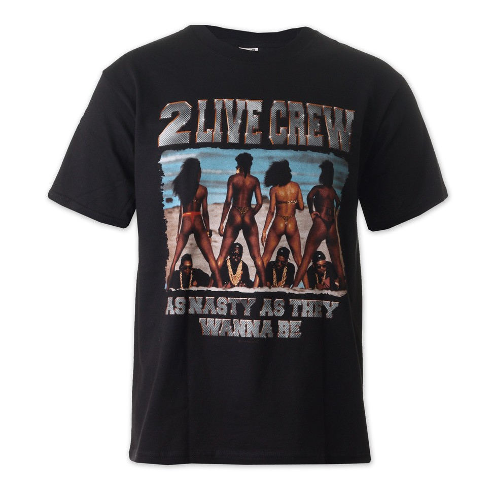 2 live crew nasty as they wanna be t shirt black. Black Bedroom Furniture Sets. Home Design Ideas