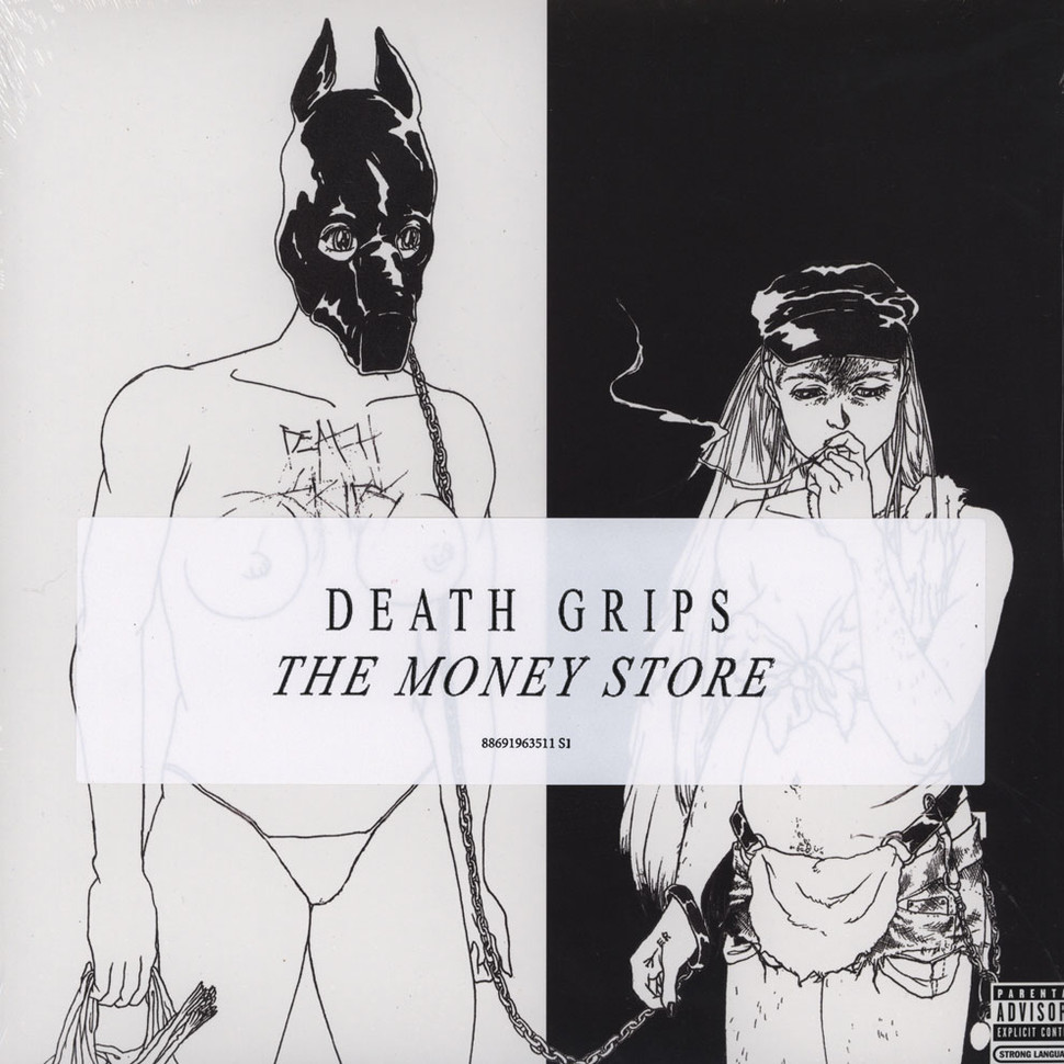 Death Grips Money Store Vinyl Lp 2012 Us