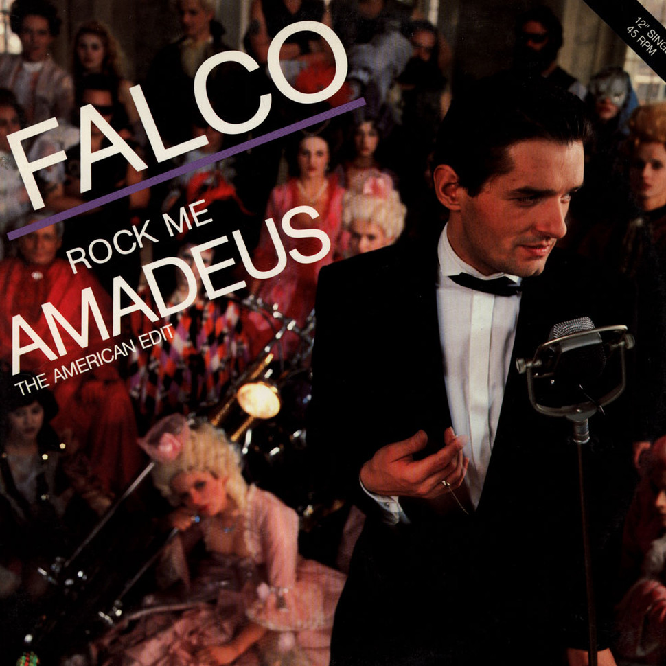 "Falco - Rock Me Amadeus (The American Edit) - Vinyl 12"" - 1985 - US ..."
