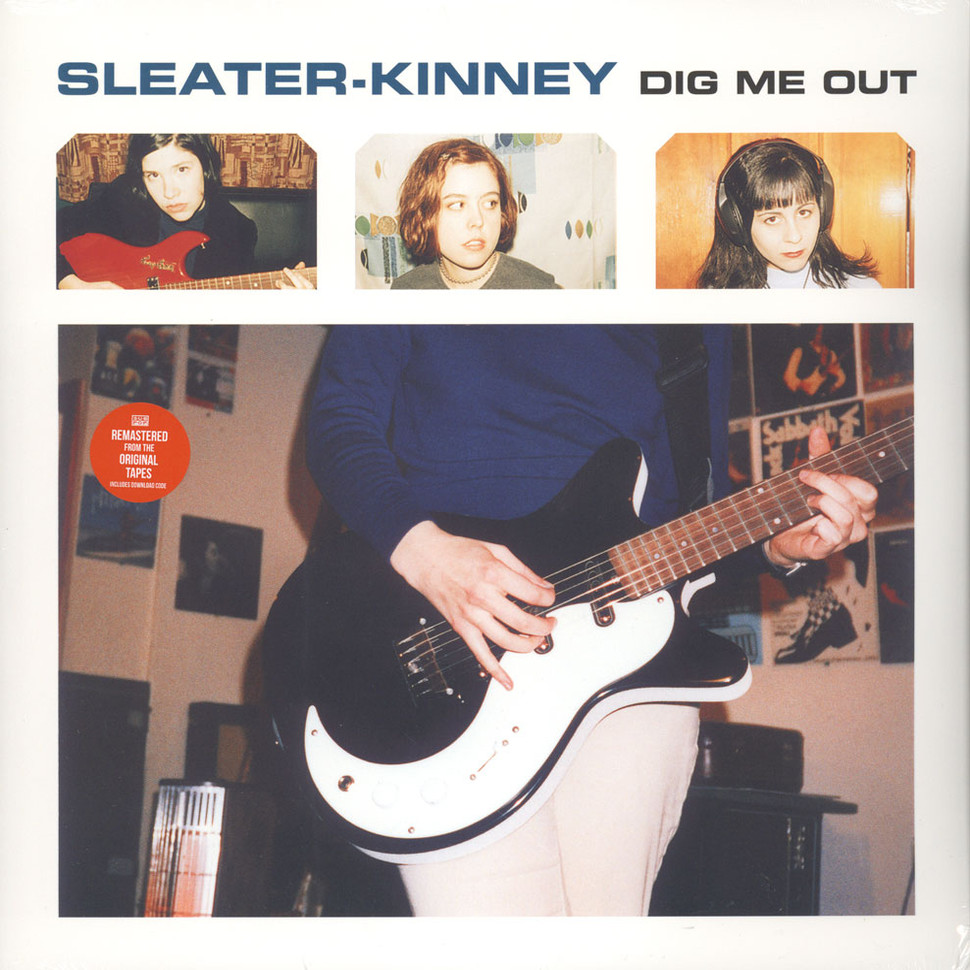 Sleater-Kinney - Dig Me Out (Vinyl LP - 1997 - US - Reissue)