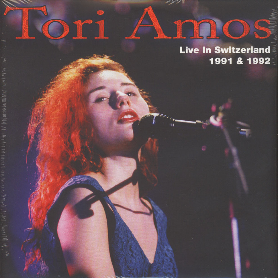 Tori Amos - Live In Switzerland 1991 & 1992 (Vinyl 2LP - 2014 - UK - Original)