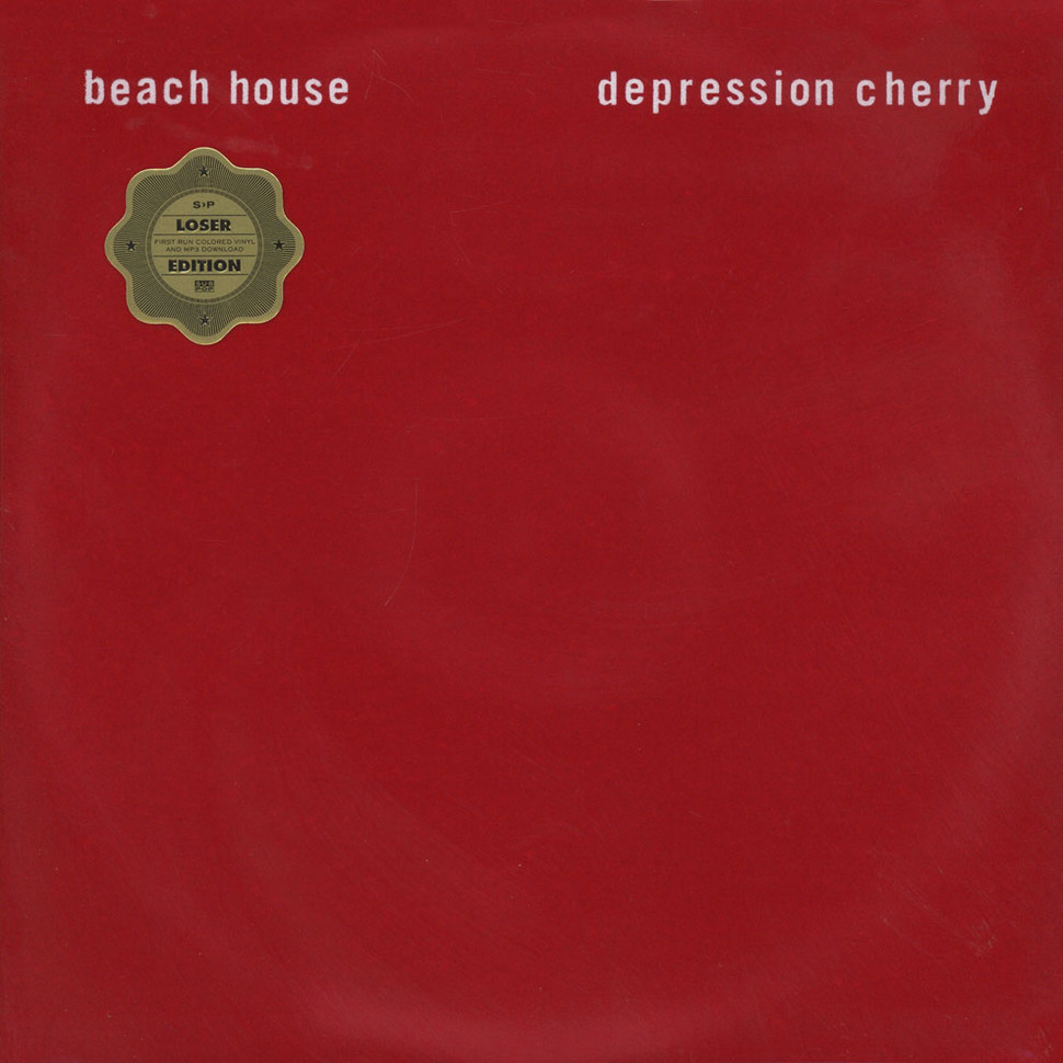 Beach House - Depression Cherry Clear Vinyl Loser Edition ...