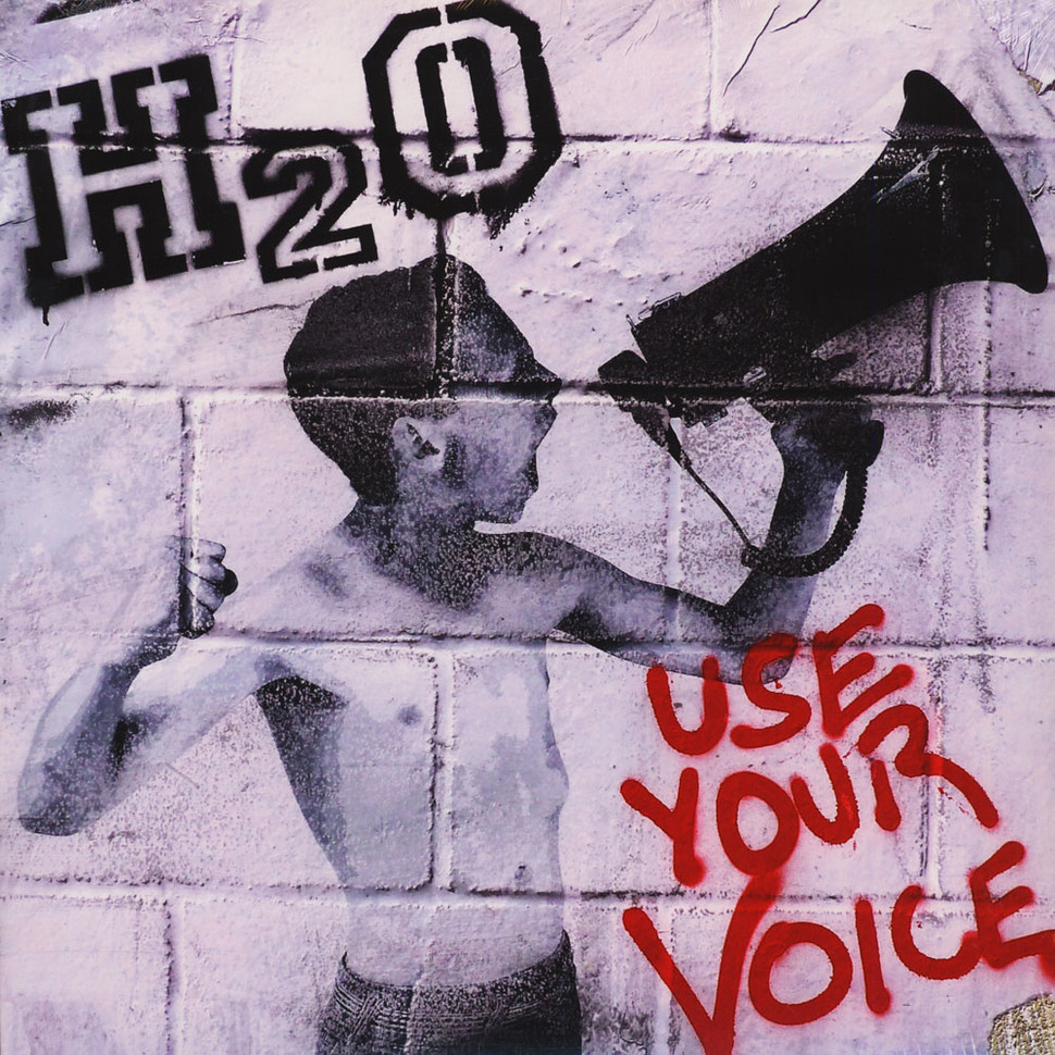 H2O - Use Your Voice (Vinyl LP - 2015 - US - Original)
