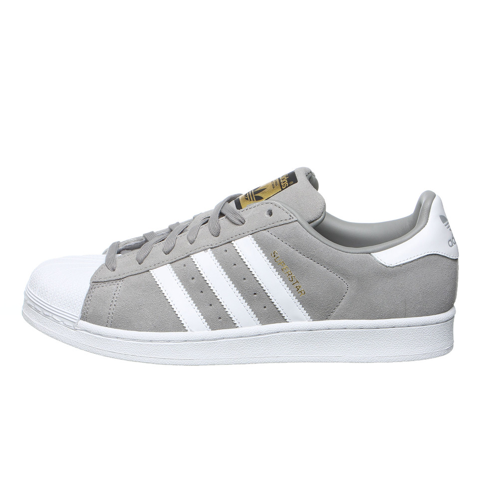 Adidas Superstar Suede Solid Grey