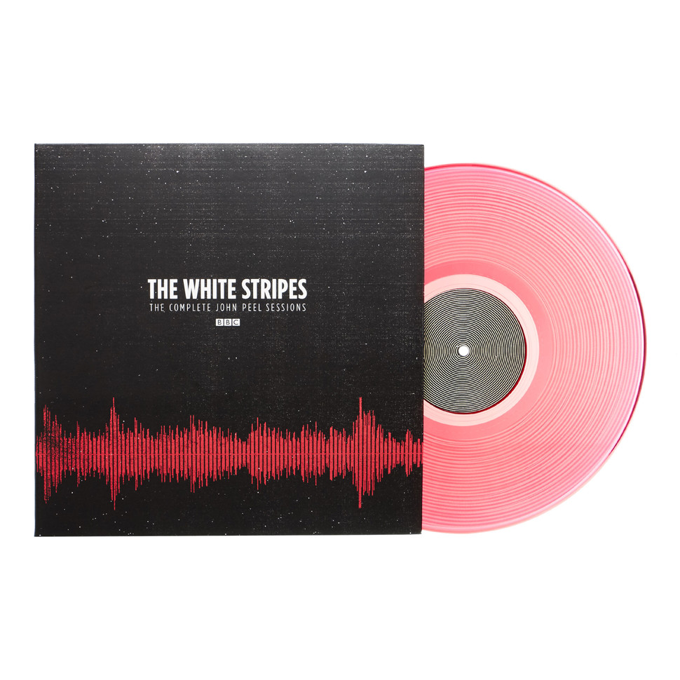 White Stripes The The Complete Peel Sessions Bbc Red