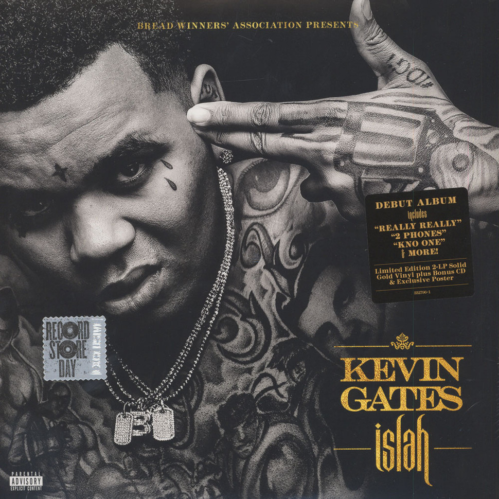 Kevin Gates - Islah - Vinyl 2LP+CD - 2016 - US - Original ...