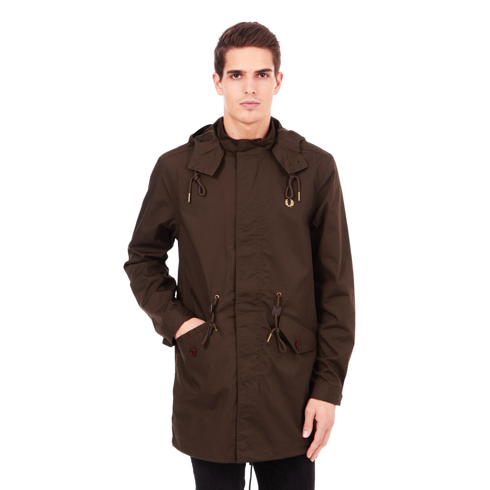 fred perry fishtail parka wren. Black Bedroom Furniture Sets. Home Design Ideas