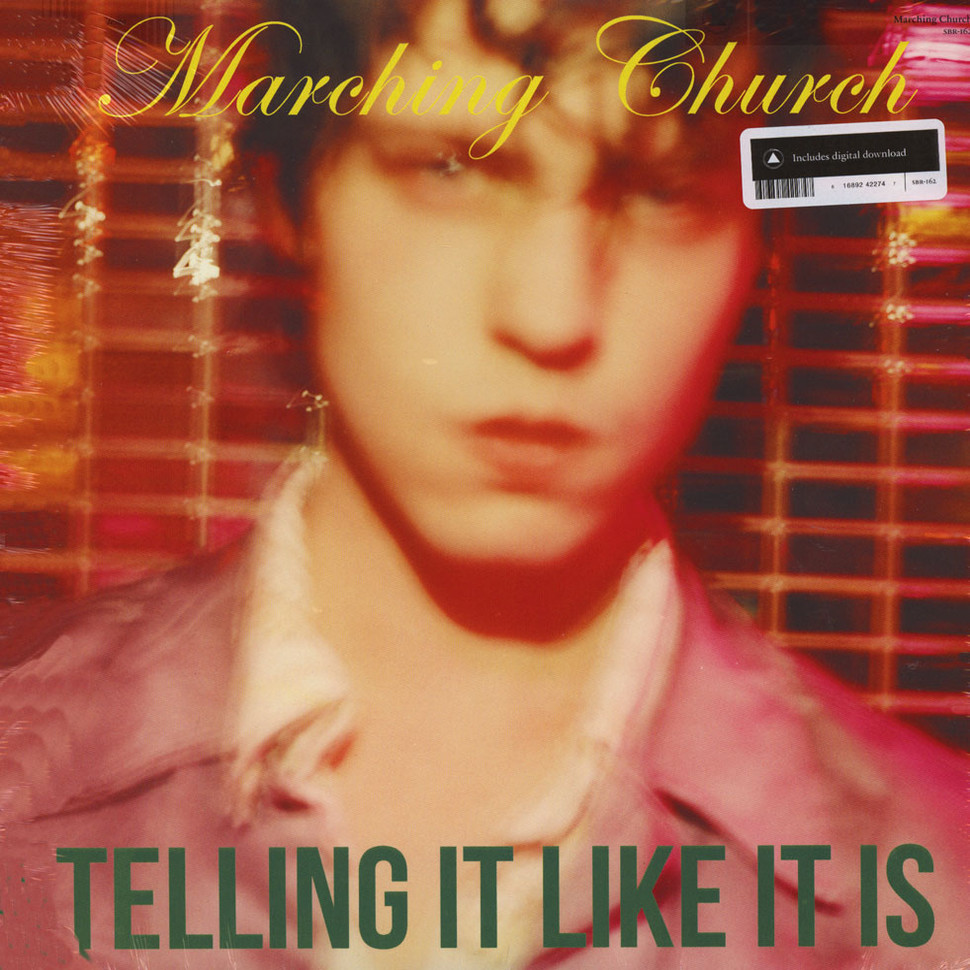 Marching Church - Telling It Like It Is (Vinyl LP - 2016 - US - Original)