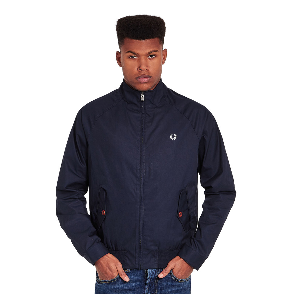fred perry ealing jacket bright navy. Black Bedroom Furniture Sets. Home Design Ideas