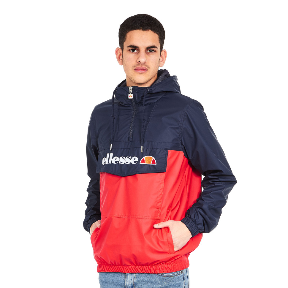 Ellesse Mont Brava 1 2 Zip Jacket Dress Blues True