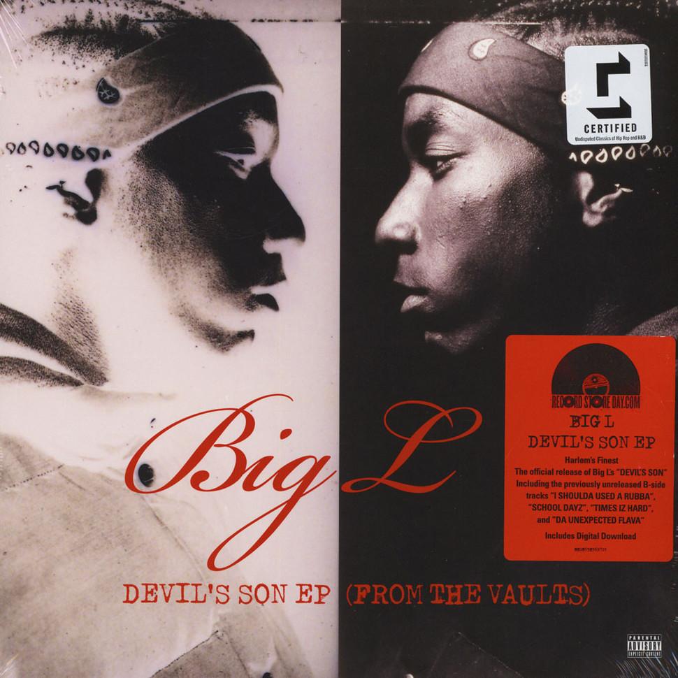 Big L Devil S Son Ep From The Vaults Vinyl 12