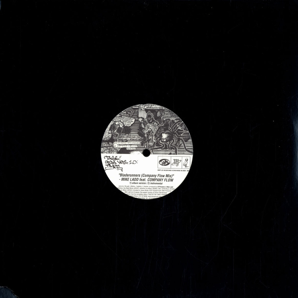 Mike Ladd / Sonic Sum - Bladerunners Company Flow remix / Window seat