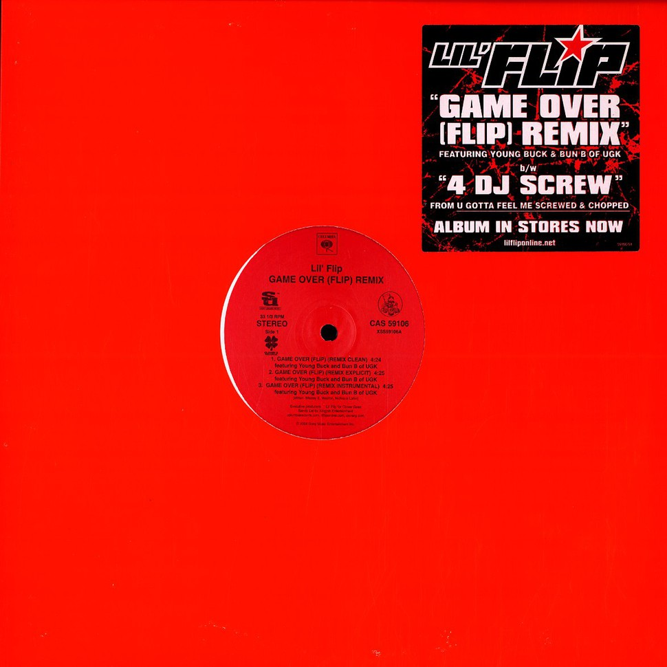 Lil Flip - Game over remix feat  Young Buck