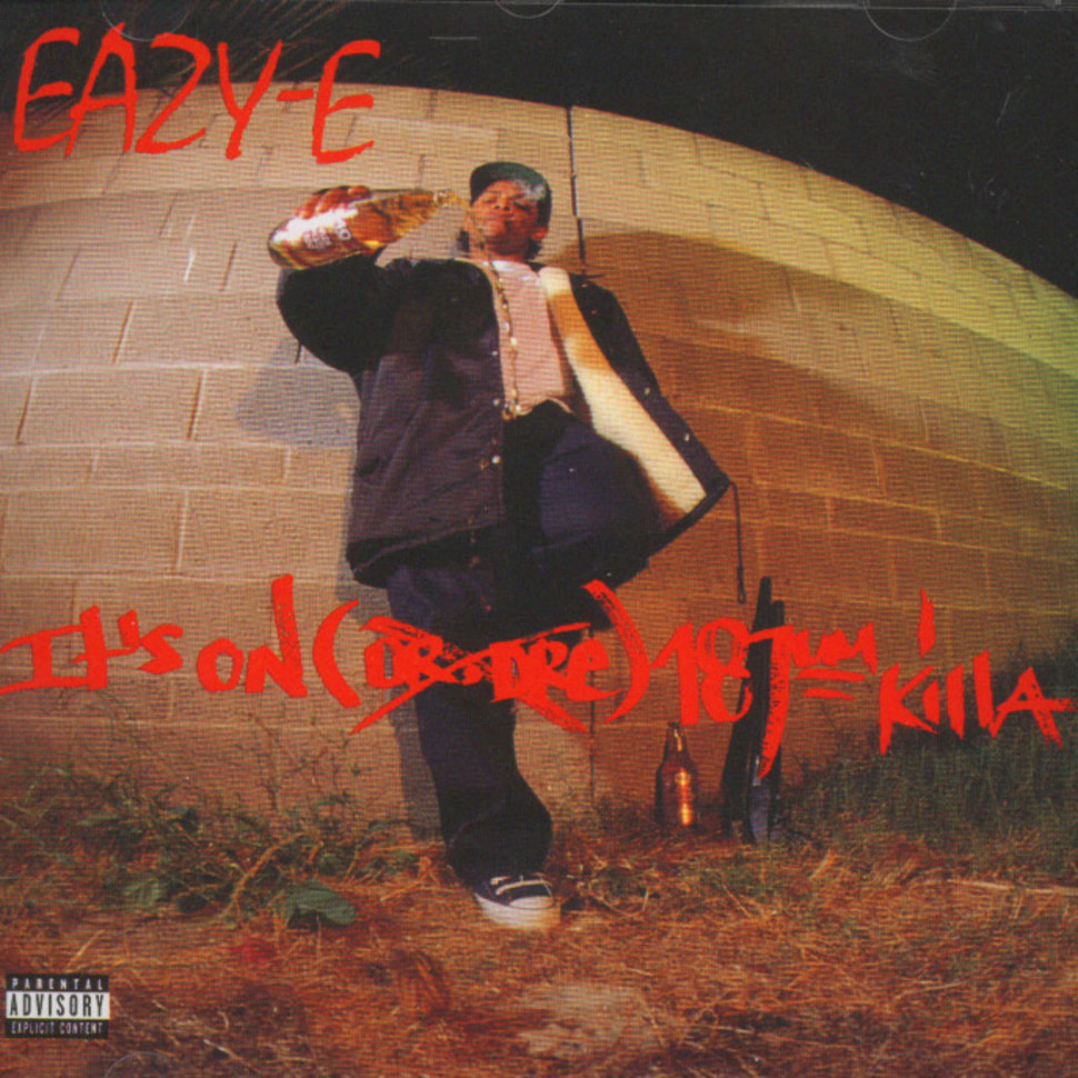 Eazy E Its On 187um Killa Cd 1993 Eu Original