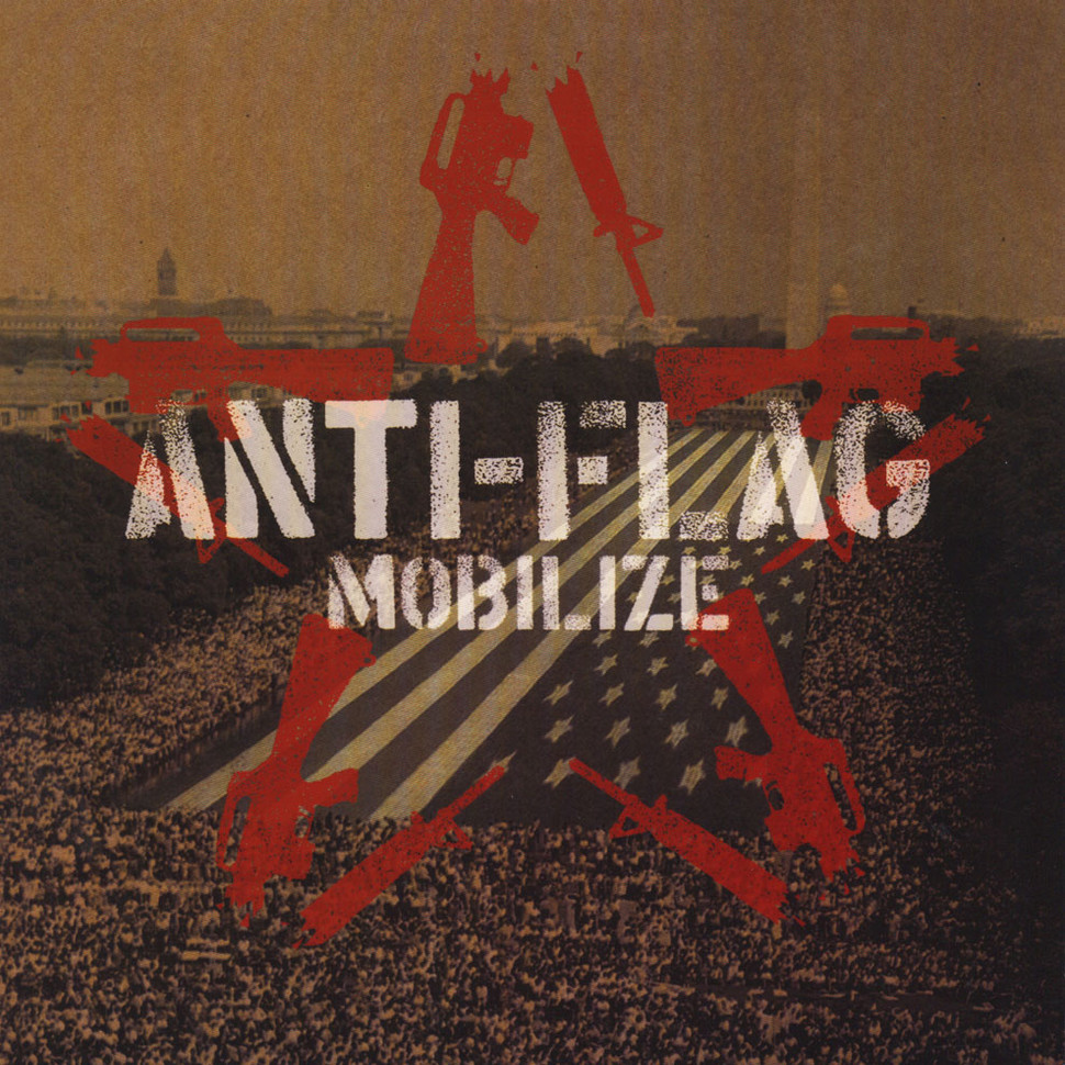 Anti Flag Mobilize Vinyl Lp 2004 Us Original Hhv