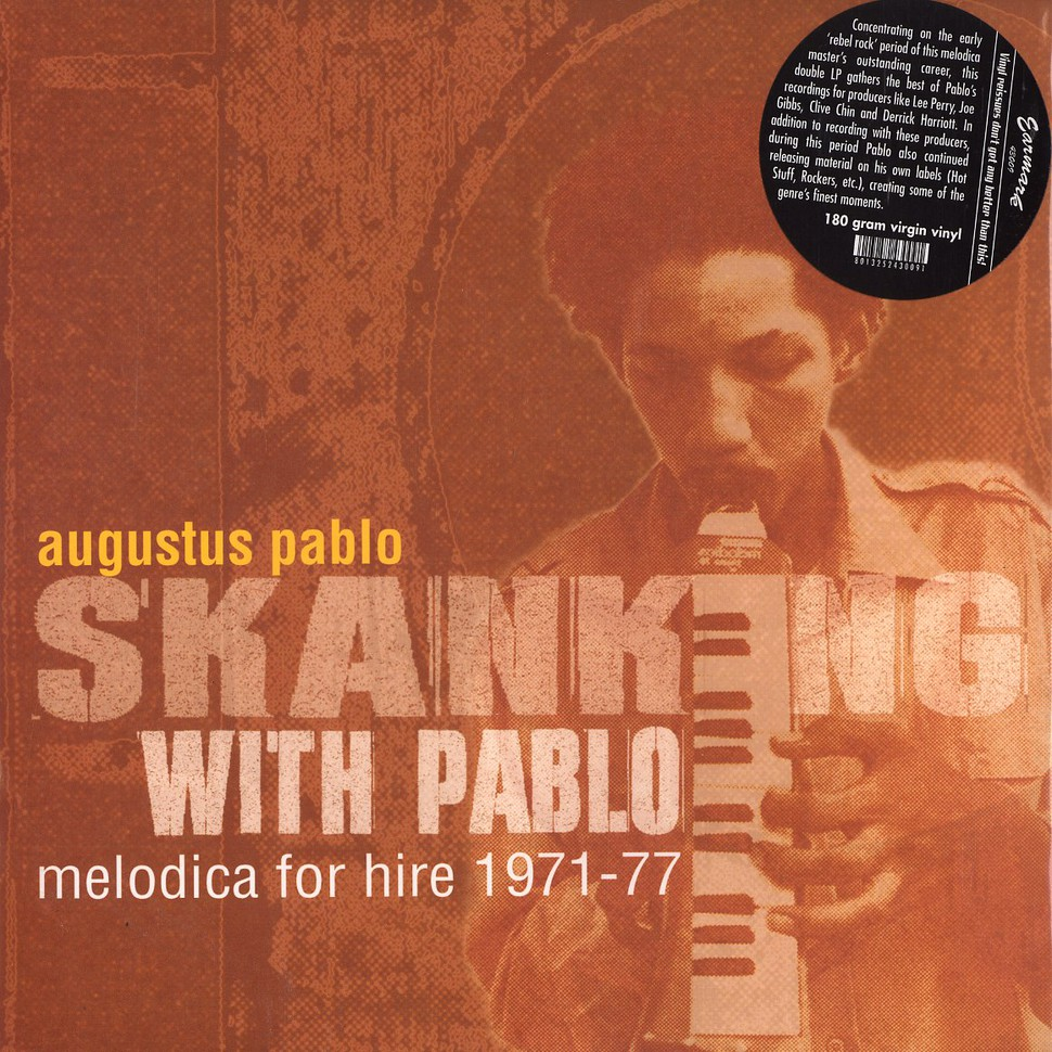 Augustus Pablo - Skanking with Pablo - melodica for hire 1971-77