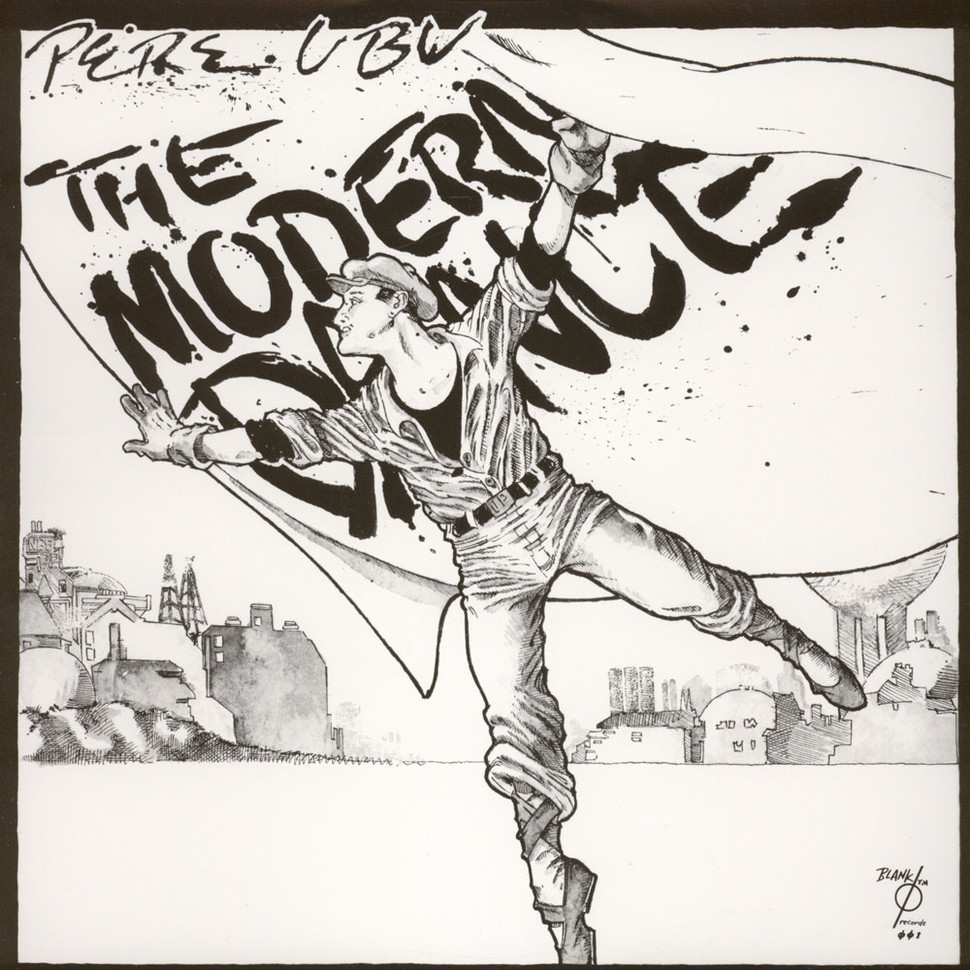 Pere Ubu The Modern Dance Vinyl Lp 1978 Us