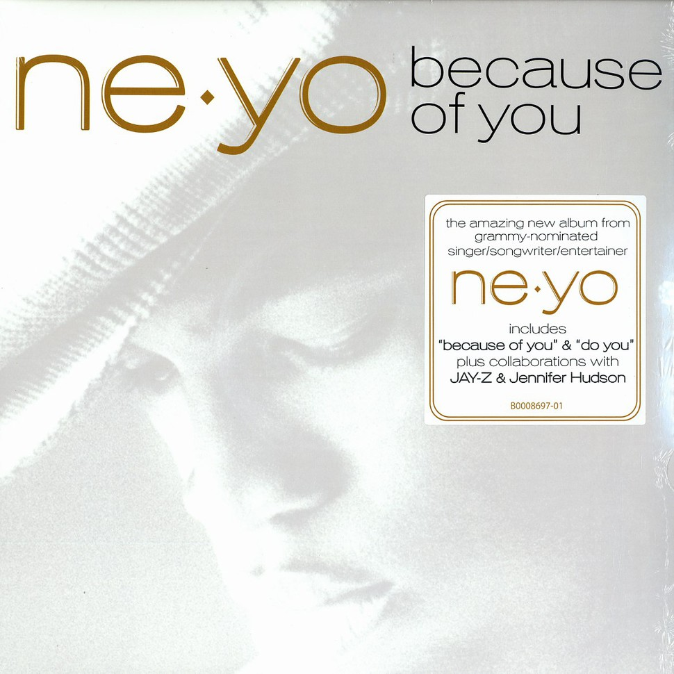 ne yo because of you lyrics - 970×970