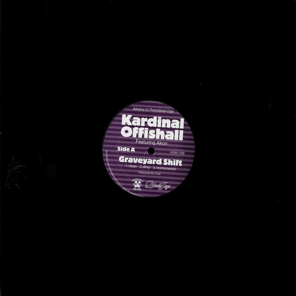 Kardinal Offishall - Graveyard shift feat  Akon