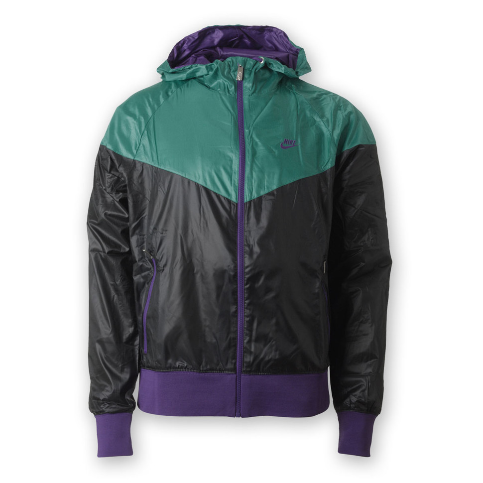 Nike - Windrunner Jacket (Black   Turbo Green   Club Purple)  27d246b76