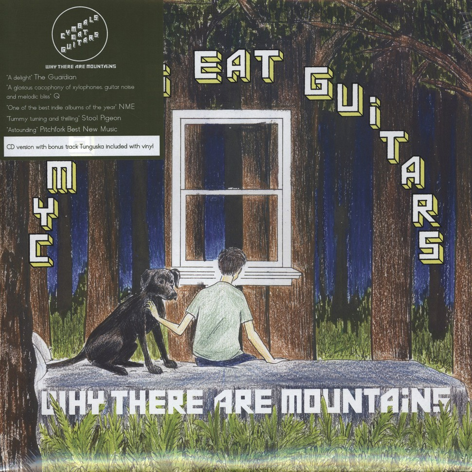 Cymbals Eat Guitars - Why There Are Mountains - Vinyl LP+CD