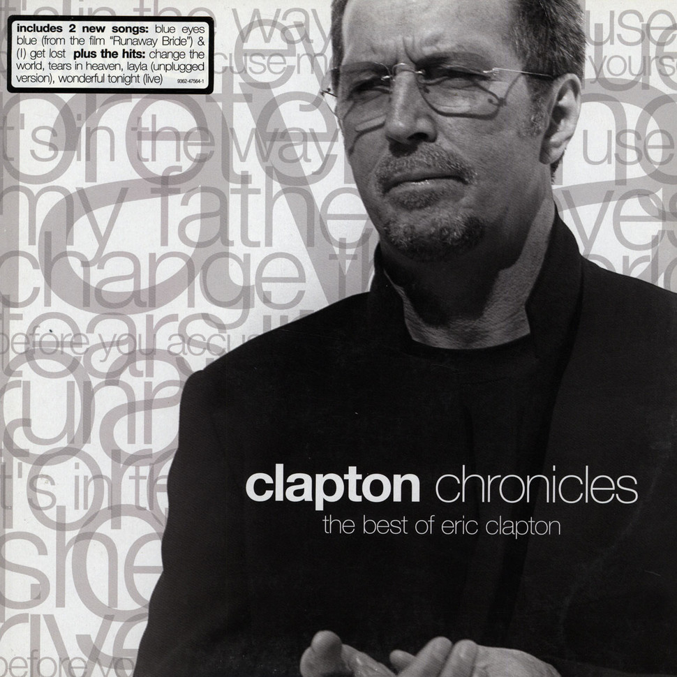 eric clapton clapton chronicles the best of eric clapton vinyl 2xlp 1999 de original. Black Bedroom Furniture Sets. Home Design Ideas