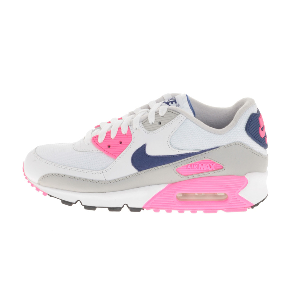 81f4853d77 Nike - WMNS Air Max 90 Concord (White / Asian Concord Laser Pink) | HHV