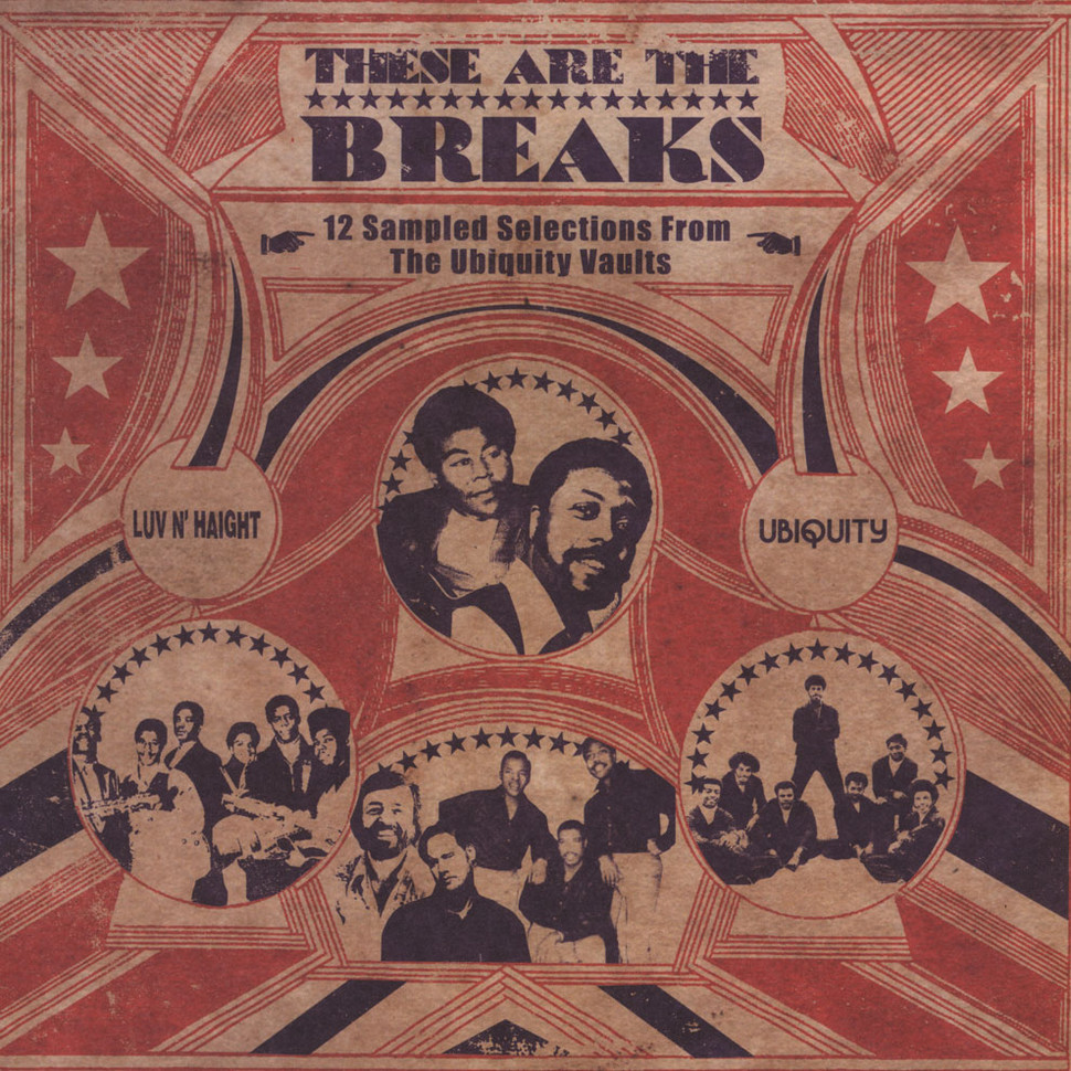 V A These Are The Breaks Vinyl 2lp 2011 Us