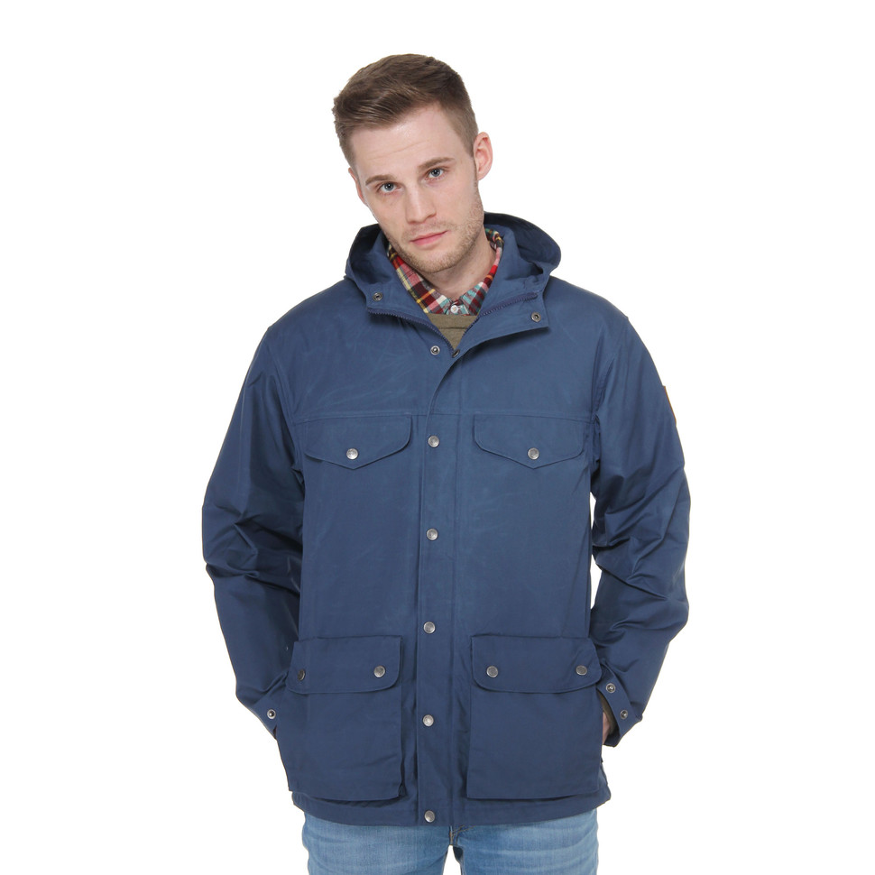 Greenland Down Jacket in Uncle Blue by Fjallraven | Jackets