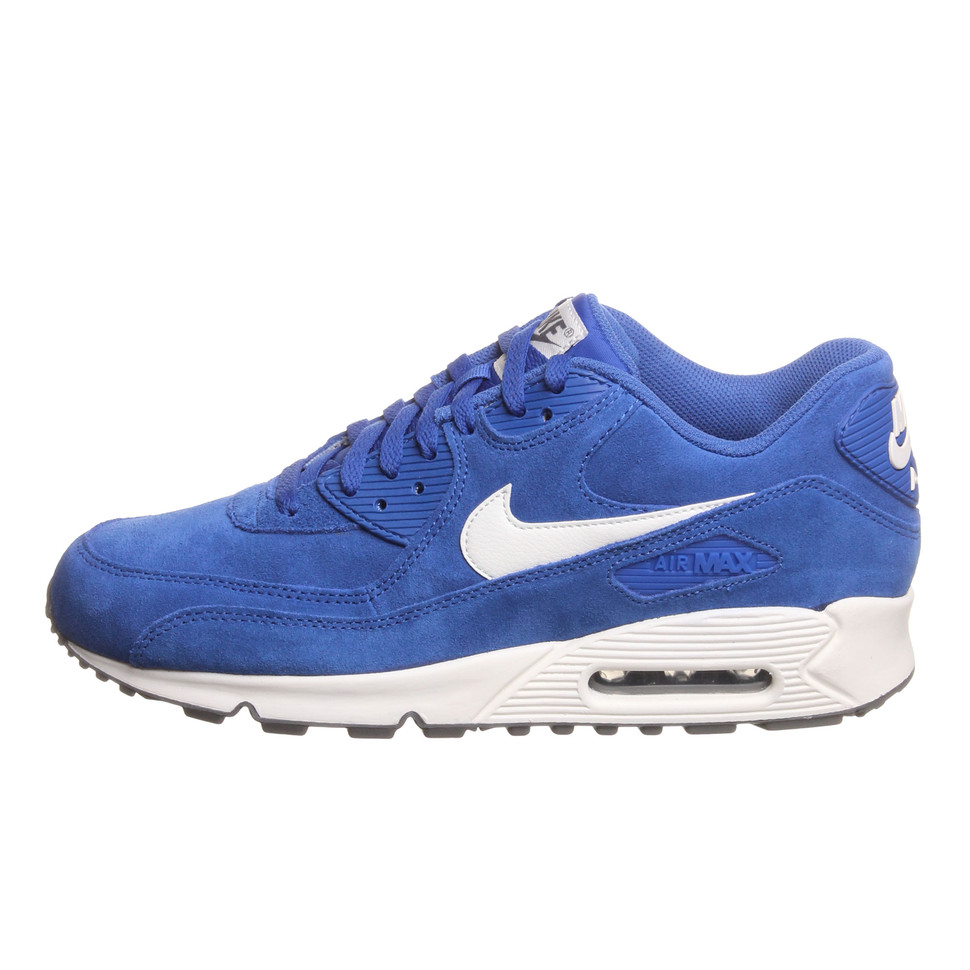 online store a22e8 8671f Nike. Air Max 90 Essential (Hyper Blue   Sail   Sail   Dark Grey)
