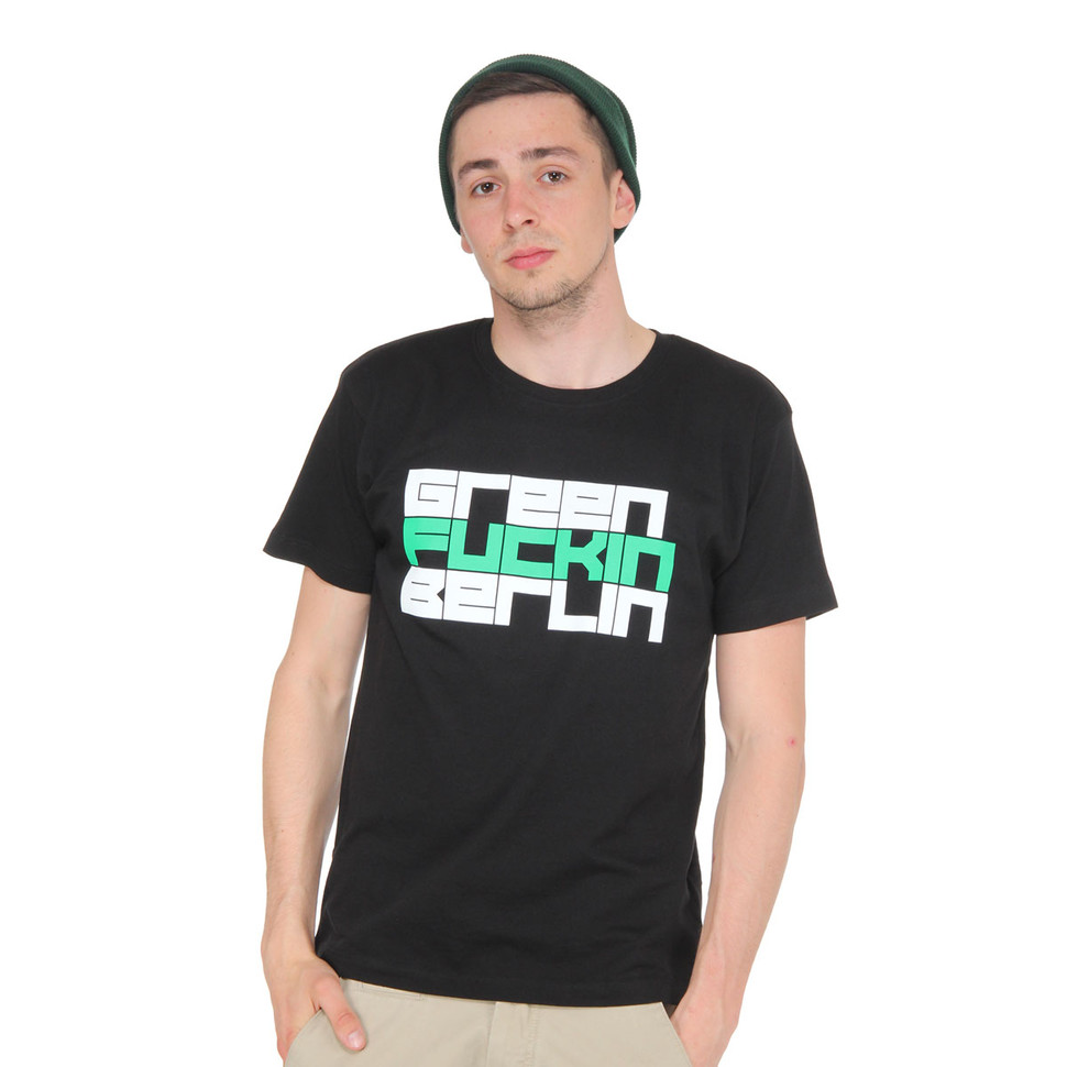 marsimoto green fucking berlin t shirt black. Black Bedroom Furniture Sets. Home Design Ideas