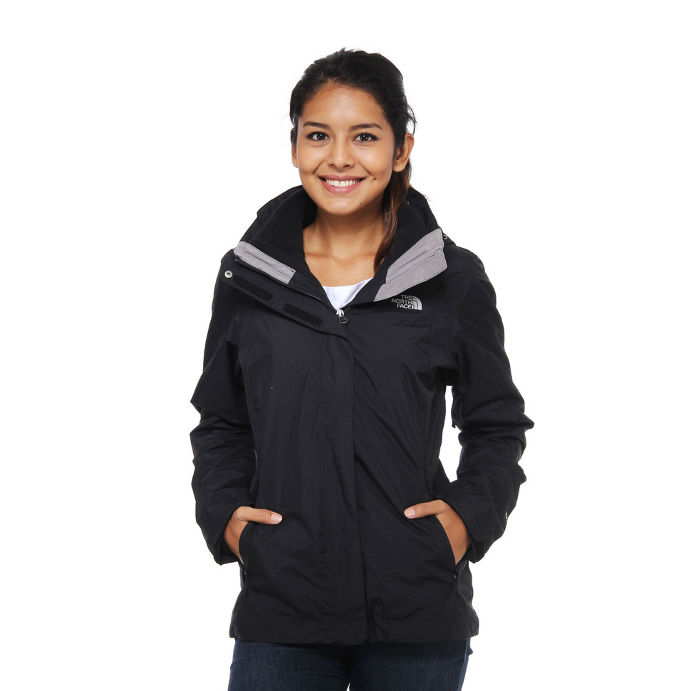 09652ba78eae The North Face - Evolution II Triclimate Women Jacket (Tnf Black)