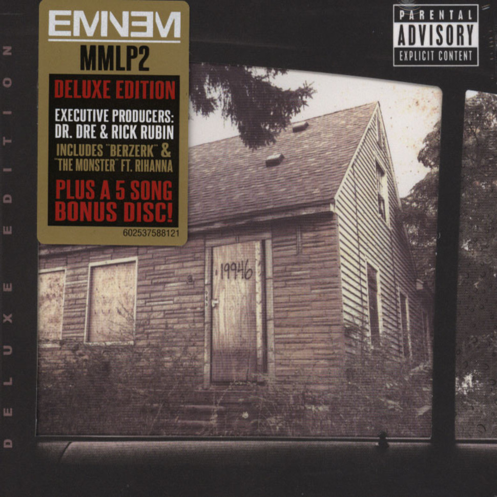 eminem the marshall mathers lp volume 2 deluxe edition