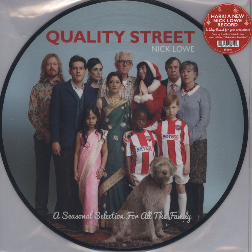2b528a66a4 Nick Lowe - Quality Street  A Seasonal Selection For All The Family - Vinyl  LP - 2013 - US - Original