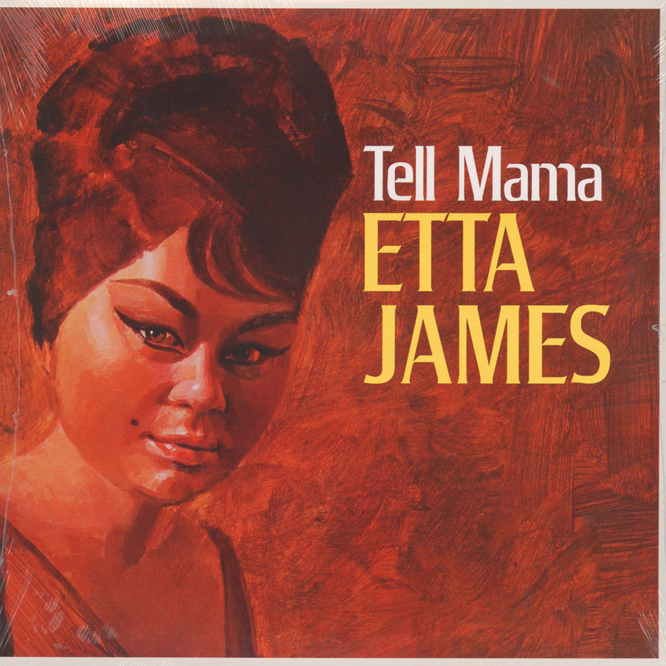 Etta James Tell Mama Vinyl Lp 1968 Eu Reissue Hhv
