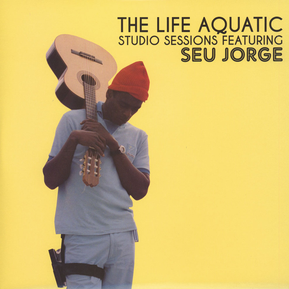 Seu Jorge The Life Aquatic Studio Sessions Clear Vinyl