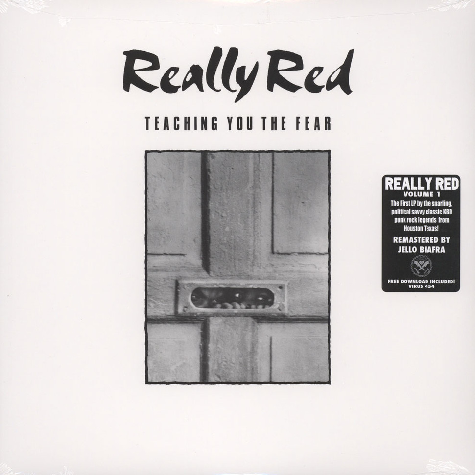 Really Red - Volume 1: Teaching You The Fear (Vinyl LP - 1981 - US - Reissue)