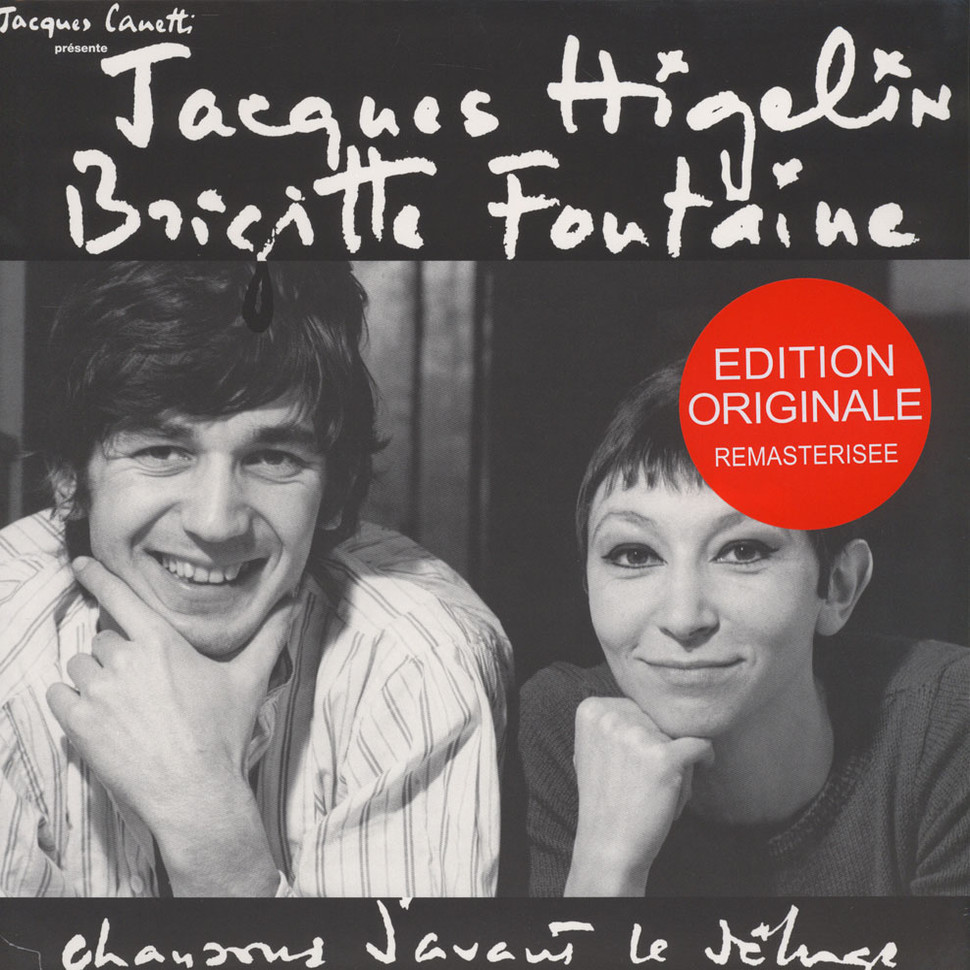 Jacques Higelin / Brigitte Fontaine - Chansons (Vinyl LP - 1965 - FR - Reissue)