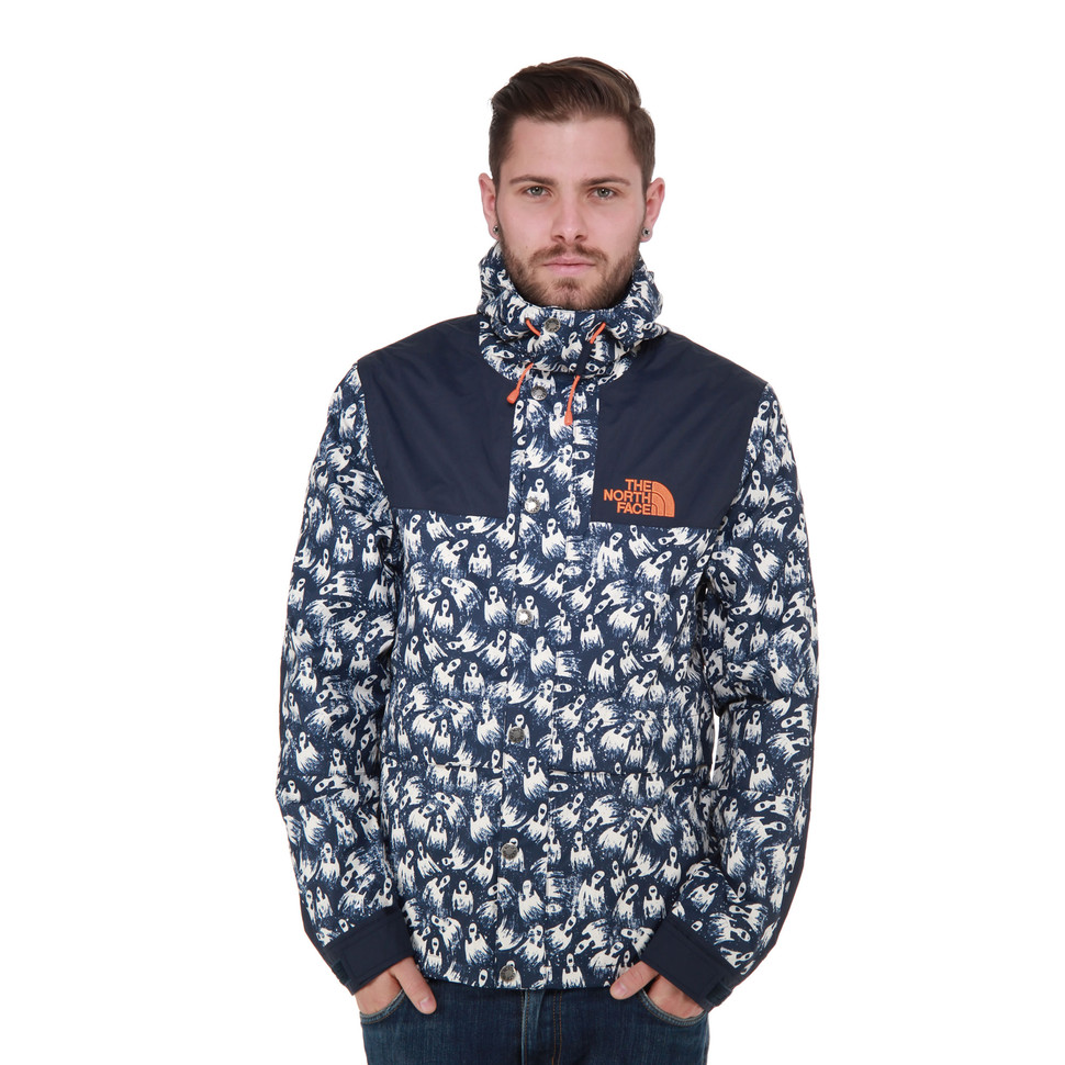 The North Face - 1985 Rage Mountain Jacket (Cosmic Blue Print)  9aae4431b