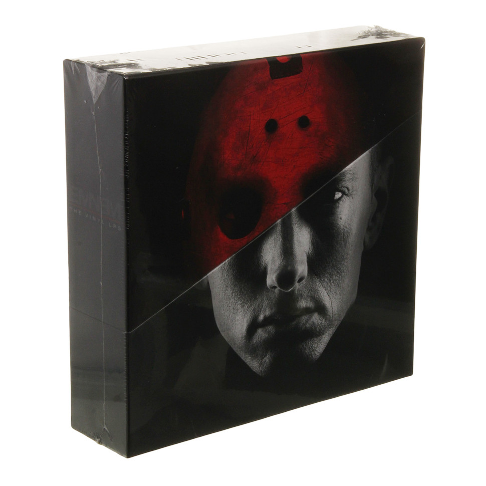 eminem the vinyl lps box set vinyl 10lp box 2015. Black Bedroom Furniture Sets. Home Design Ideas