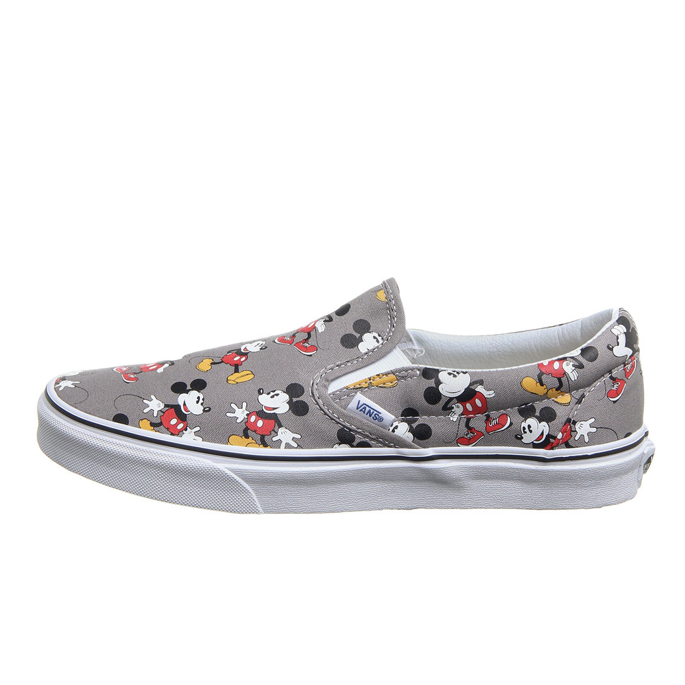 e2db2af5bb Vans x Disney - Classic Slip-On Mickey Mouse (Frost Gray)