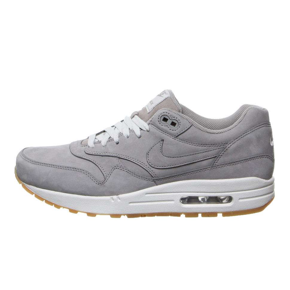 timeless design 11bf7 05169 Nike. Air Max 1 LTR Premium (Medium Grey ...