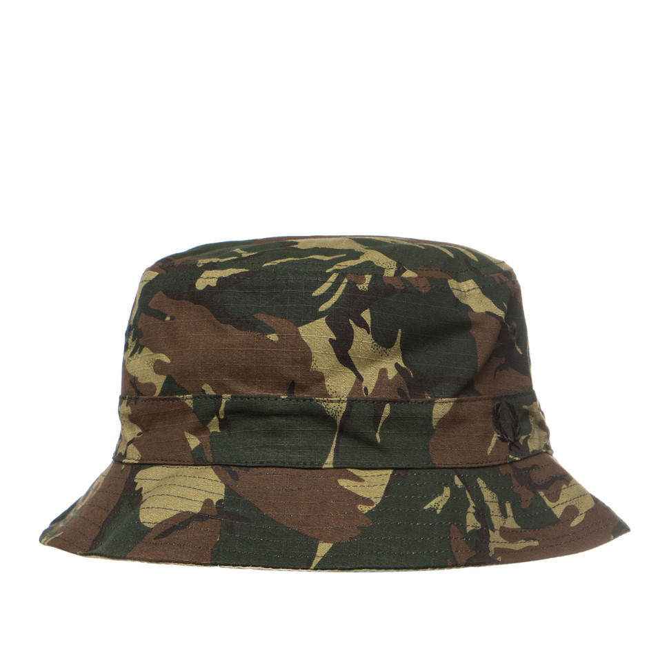 Fred Perry - Camo Ripstop Reversible Fishermans Hat