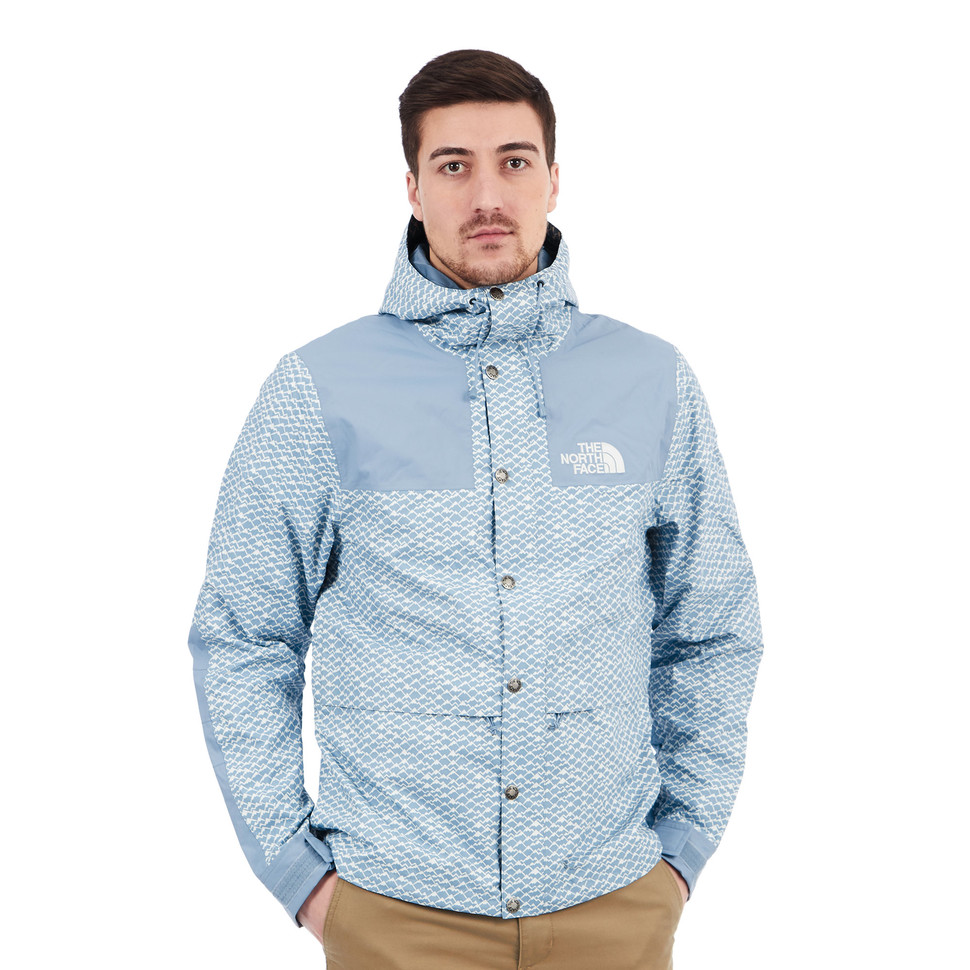 The North Face - 1985 Rage Mountain Jacket (Faded Denim Print)  dd9a1e330