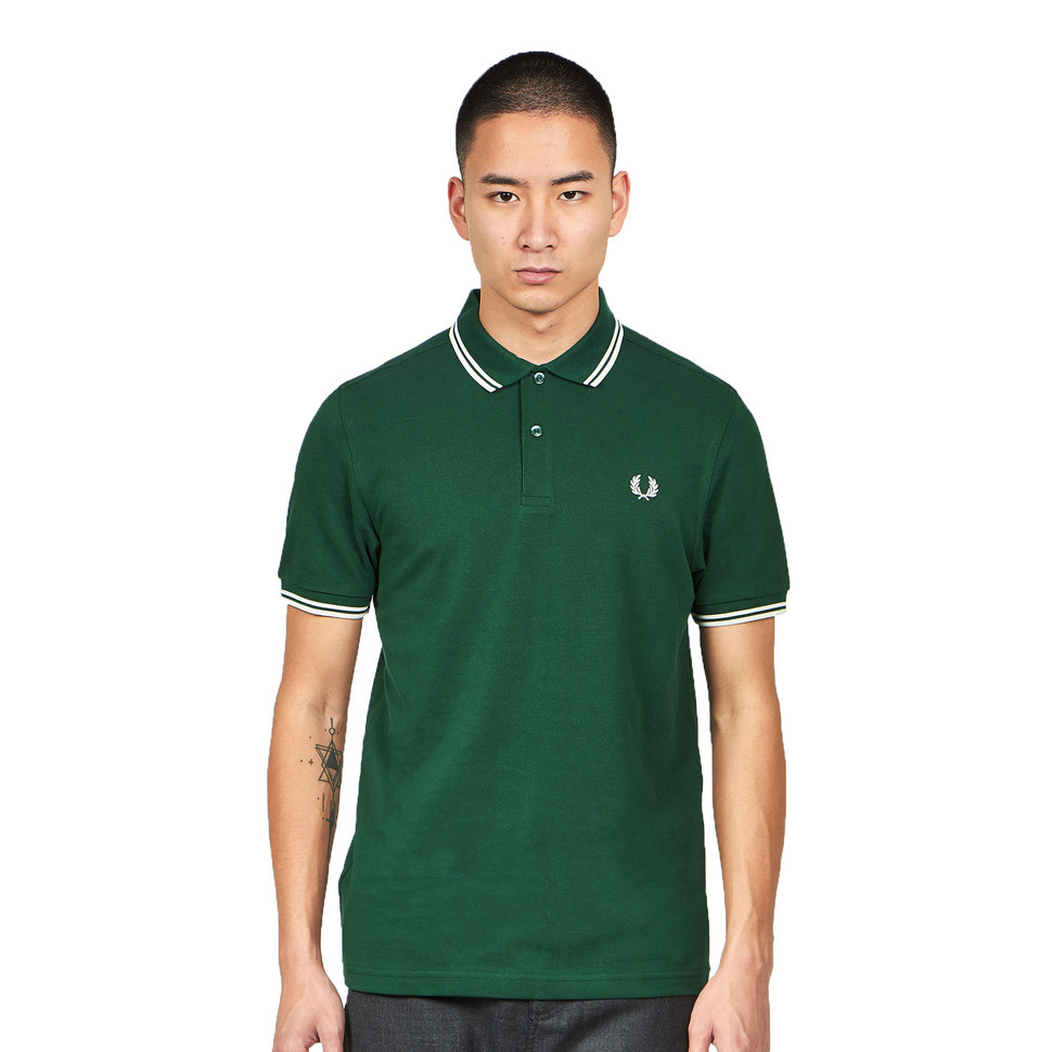 fred perry twin tipped fred perry polo shirt ivy snow white hhv. Black Bedroom Furniture Sets. Home Design Ideas