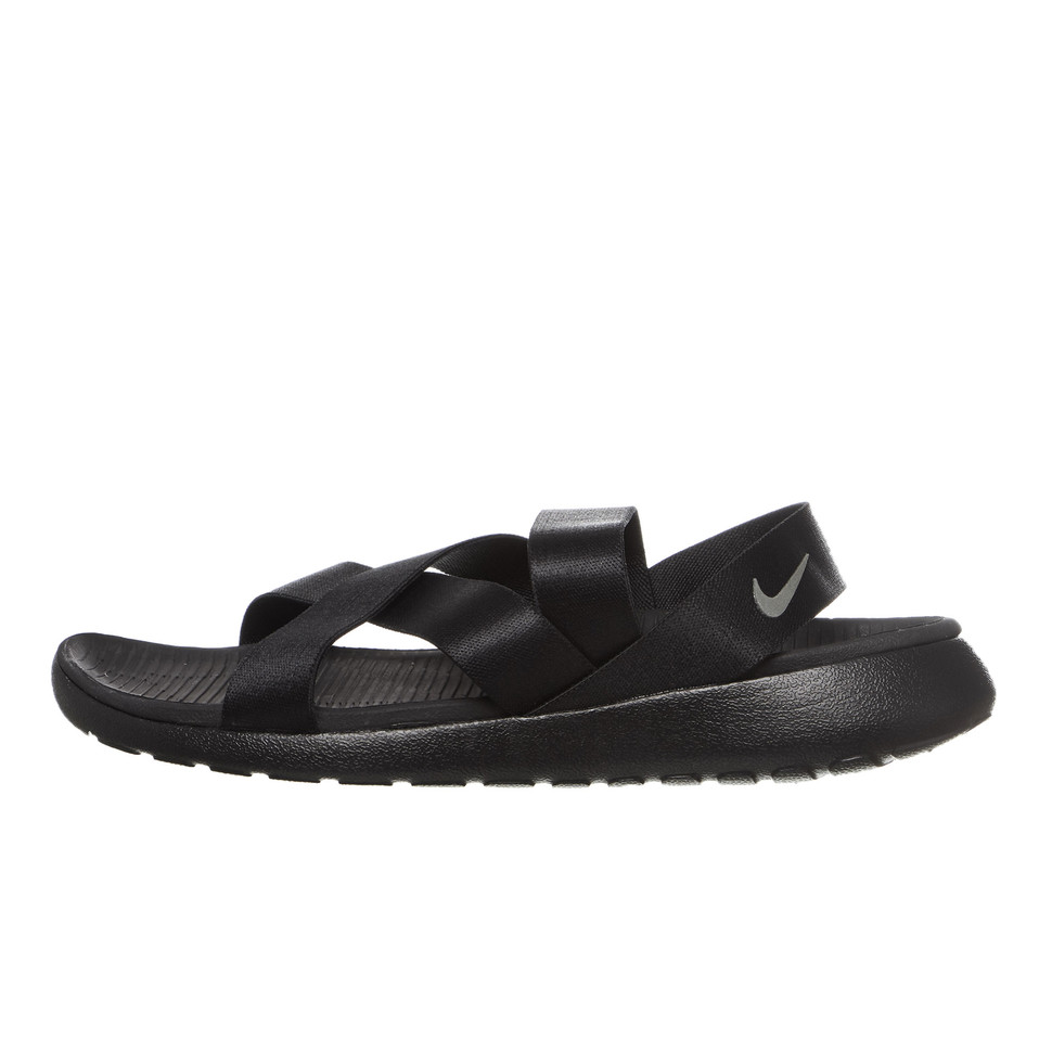 Nike Women's W Roshe One Sandal, BLACKANTHRACITE BLACK