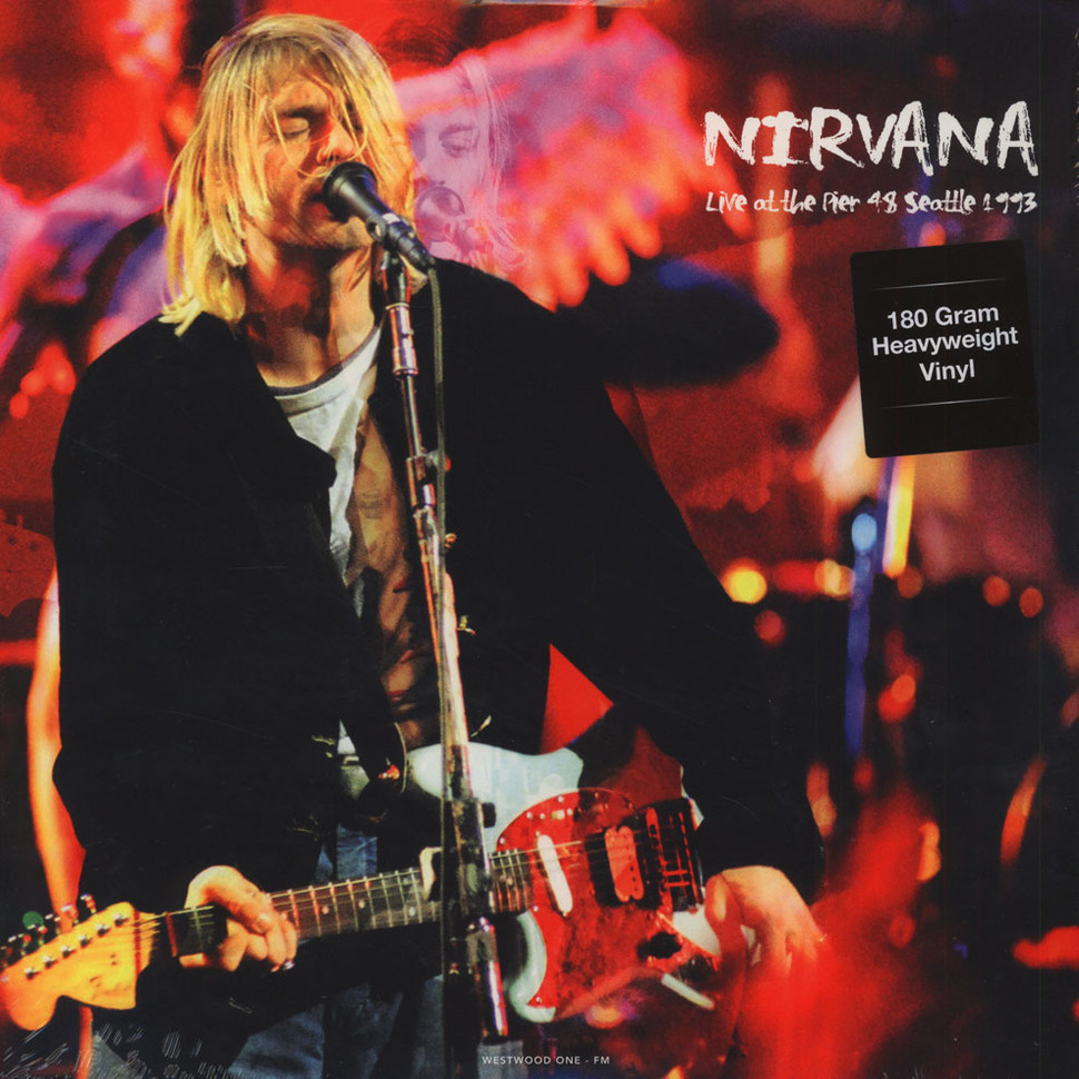 Nirvana Live At The Pier Seattle 180g Vinyl Edition