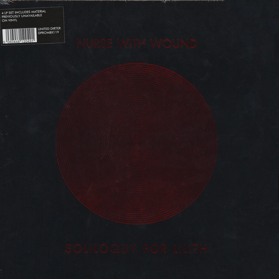 Nurse With Wound Soliloquy For Lilith Vinyl 4lp 2016